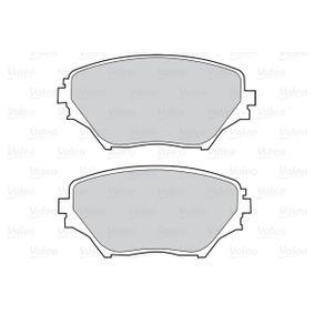 Disk pads 302033 VALEO