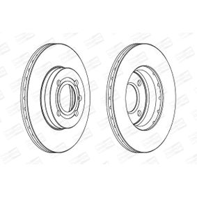 Bremsscheibe CHAMPION Art.No - 561448CH OEM: 357615301D für VW, AUDI, SKODA, SEAT kaufen