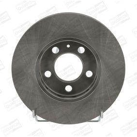 Bremsscheibe CHAMPION Art.No - 562040CH OEM: 5Z0615301B für VW, AUDI, SKODA, SEAT kaufen
