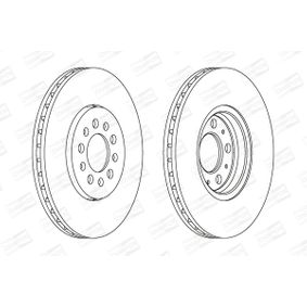 Bremsscheibe CHAMPION Art.No - 562041CH OEM: 6R0615301D für VW, AUDI, SKODA, SEAT kaufen