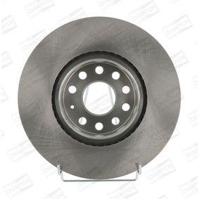 Bremsscheibe CHAMPION Art.No - 562387CH OEM: 5N0615301 für VW, AUDI, SKODA, SEAT, ALFA ROMEO kaufen