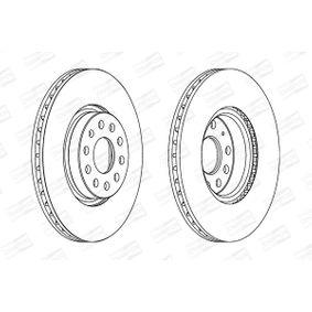CHAMPION Disque de frein 8V0698302B pour VOLKSWAGEN, AUDI, SEAT, SKODA acheter
