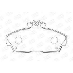 CHAMPION Комплект спирачно феродо, дискови спирачки GBP90313 за SKODA, ROVER, MG купете
