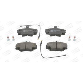 Bremsbelagsatz, Scheibenbremse CHAMPION Art.No - 571526CH OEM: 7701206082 für RENAULT, DACIA, LADA, SANTANA, RENAULT TRUCKS kaufen