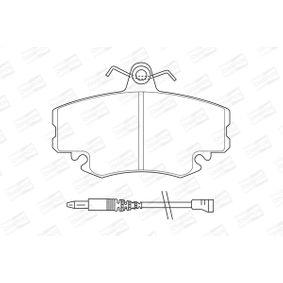 CHAMPION Bremsbelagsatz, Scheibenbremse 7701206082 für RENAULT, DACIA, LADA, SANTANA, RENAULT TRUCKS bestellen