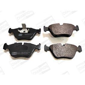 Bremsbelagsatz, Scheibenbremse CHAMPION Art.No - 571880CH OEM: 34111164331 für BMW kaufen