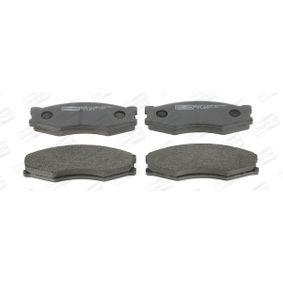 Bremsbelagsatz, Scheibenbremse CHAMPION Art.No - 572312CH OEM: 4106063C90 für NISSAN, INFINITI kaufen