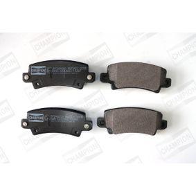 Bremsbelagsatz, Scheibenbremse CHAMPION Art.No - 572492CH OEM: 0446602040 für TOYOTA, LEXUS, WIESMANN kaufen