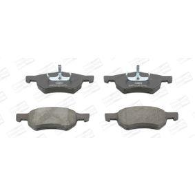 Bremsbelagsatz, Scheibenbremse CHAMPION Art.No - 572509CH OEM: 5015365AA für ALFA ROMEO, JEEP, CHRYSLER, DODGE kaufen