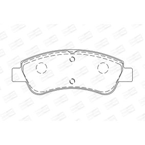 Brake Pad Set, disc brake CHAMPION Art.No - 573030CH OEM: E172124 for PEUGEOT, CITROЁN, DS, PIAGGIO, TVR buy