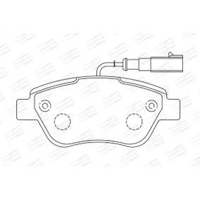 CHAMPION Bremsbelagsatz, Scheibenbremse 71770098 für FIAT, ALFA ROMEO, LANCIA bestellen