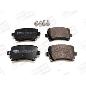 Bremsbelagsatz, Scheibenbremse CHAMPION Art.No - 573158CH OEM: 4F0698451D für VW, AUDI, SKODA, SEAT, HONDA kaufen