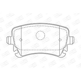 CHAMPION Bremsbelagsatz, Scheibenbremse 4F0698451C für VW, AUDI, SKODA, SEAT bestellen