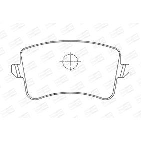 CHAMPION Bremsbelagsatz, Scheibenbremse 8K0698451F für VW, AUDI, SKODA, SEAT bestellen