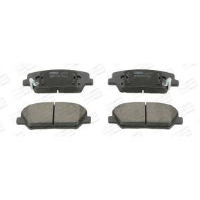 Bremsbelagsatz, Scheibenbremse CHAMPION Art.No - 573447CH OEM: 581012TA20 für HYUNDAI, KIA kaufen