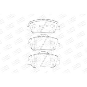 CHAMPION Bremsbelagsatz, Scheibenbremse 581012TA20 für HYUNDAI, KIA bestellen