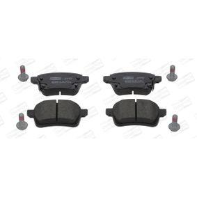 Bremsbelagsatz, Scheibenbremse CHAMPION Art.No - 573689CH OEM: 77367914 für FIAT kaufen