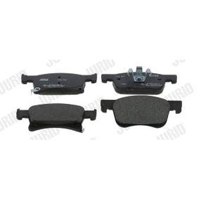 Bremsbelagsatz, Scheibenbremse JURID Art.No - 573657J OEM: 1605281 für OPEL, VAUXHALL kaufen
