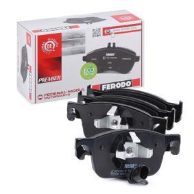 8W0698151Q pour VOLKSWAGEN, AUDI, SEAT, SKODA, Kit de plaquettes de frein, frein à disque FERODO (FDB4871) Boutique en ligne