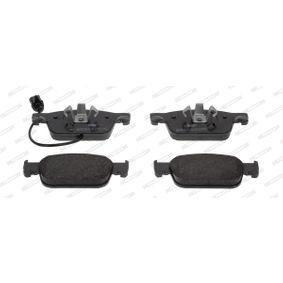 FERODO Kit de plaquettes de frein, frein à disque FDB4871