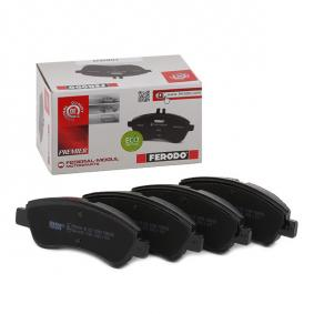 E172124 for PEUGEOT, CITROЁN, DS, PIAGGIO, TVR, Brake Pad Set, disc brake FERODO (FDB5025) Online Shop