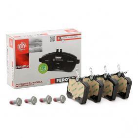 3B0698451A für VW, AUDI, FORD, RENAULT, PEUGEOT, Bremsbelagsatz, Scheibenbremse FERODO (FDB5026) Online-Shop