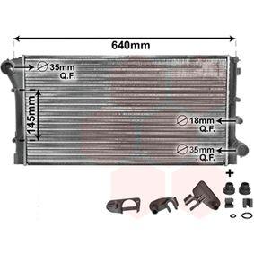 VAN WEZEL Radiator engine cooling 17002292