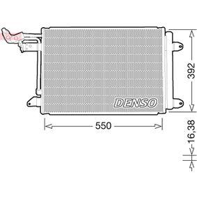 Populární Kondenzátor klimatizace DENSO DCN32032 pro SKODA OCTAVIA 1.6 TDI 105 HP