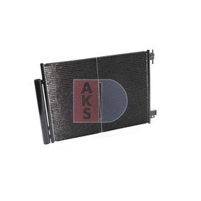 AKS DASIS Kondensator, Klimaanlage 122046N