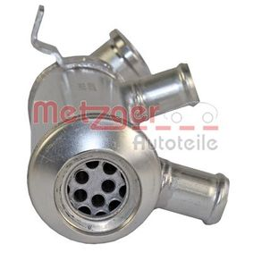 METZGER Cooler, exhaust gas recirculation 0892495 original quality