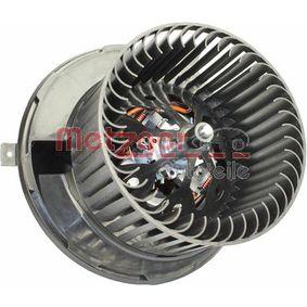 Interior Blower METZGER Art.No - 0917286 OEM: 1K1819015E for VW, AUDI, VOLVO, SKODA, SEAT buy