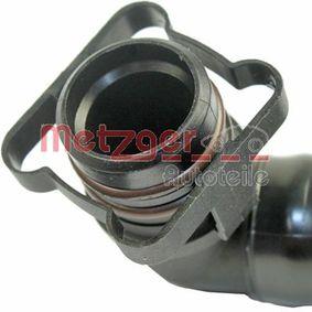 METZGER Schlauch, Kurbelgehäuseentlüftung 06F103235 für VW, AUDI, SKODA, SEAT bestellen