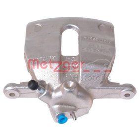 Bremssattel METZGER Art.No - 6250023 OEM: 6Q0615123 für VW, AUDI, SKODA, SEAT kaufen