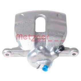 Bremssattel METZGER Art.No - 6250024 OEM: 6Q0615124 für VW, AUDI, SKODA, SEAT kaufen