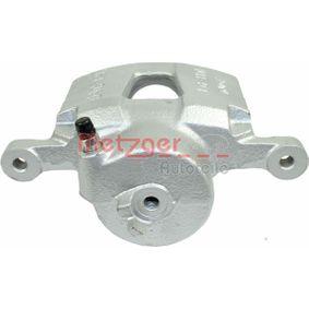 Bremssattel METZGER Art.No - 6250759 OEM: 96549788 für OPEL, CHEVROLET, DAEWOO kaufen