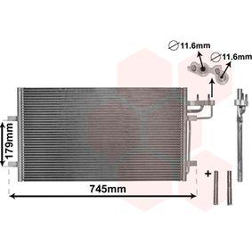 Kondensator, Klimaanlage VAN WEZEL Art.No - 18005367 OEM: 1234248 für FORD, VOLVO kaufen