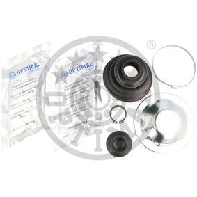Faltenbalgsatz, Antriebswelle OPTIMAL Art.No - CVB-10252CR OEM: 8N0498201A für VW, AUDI, SKODA, SEAT kaufen