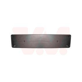 Suportes da placa de matrícula para automóveis de VAN WEZEL: encomende online