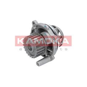 Wasserpumpe KAMOKA Art.No - T0028 OEM: 06B121011H für VW, AUDI, SKODA, SEAT, PORSCHE kaufen