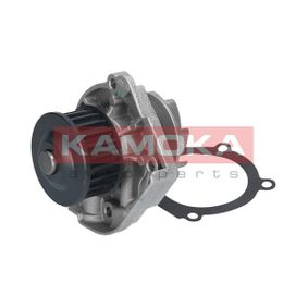 Water pump (T0114) producer KAMOKA for FIAT PUNTO (188) year of manufacture 09/1999, 80 HP Online Shop