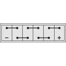 IPSA Starterbatterie 2880015050 für TOYOTA, NISSAN, LEXUS, WIESMANN bestellen