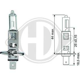 DIEDERICHS Glühlampe, Fernscheinwerfer N0177616 für VW, AUDI bestellen