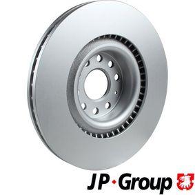 JP GROUP Спирачен диск 1K0615301AB за VW, AUDI, SKODA, SEAT купете