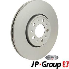 Bremsscheibe JP GROUP Art.No - 1163109000 OEM: JZW615301D für VW, AUDI, SKODA, SEAT kaufen