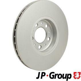 JP GROUP Bremsscheibe JZW615301D für VW, AUDI, SKODA, SEAT bestellen