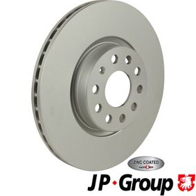 Bremsscheibe JP GROUP Art.No - 1163109500 OEM: 5N0615301 für VW, AUDI, SKODA, SEAT, ALFA ROMEO kaufen
