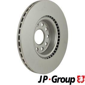 JP GROUP Disc frana JZW615301H pentru VW, AUDI, SKODA, SEAT cumpără