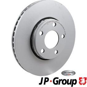 Bremsscheibe JP GROUP Art.No - 1163110400 OEM: 4B0615301B für VW, AUDI, SKODA, SEAT, PORSCHE kaufen