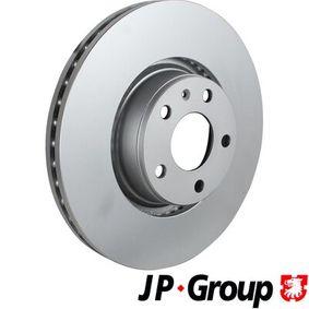 Bremsscheibe JP GROUP Art.No - 1163110700 OEM: 4F0615301E für VW, AUDI, SKODA, SEAT kaufen