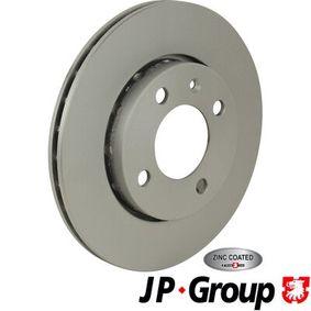 Bremsscheibe JP GROUP Art.No - 1163110900 OEM: 6N0615301F für VW, AUDI, SKODA, SEAT kaufen